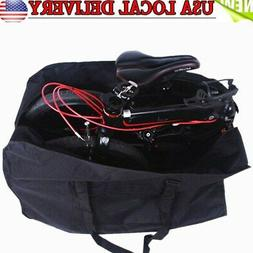 Folding Bicycle Bike Carrier Bag Carry 14''-20'' Travel Pouc