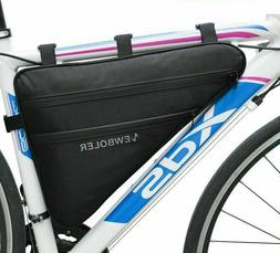 Front Tube Bag Waterproof Large Bicycle Triangle Pack Cyclin
