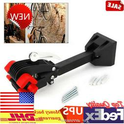 Heavy Duty Wall Mount Bike Cycle Repair Stand Folding Clamp