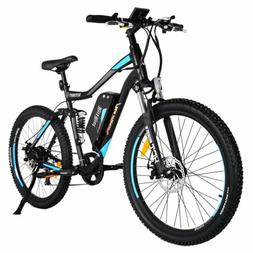 "Addmotor HITHOT H1 Electric Bicycle 500W 27.5"" Dual Suspensi"