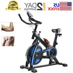Indoor Exercise Bike Stationary Cardio Fitness Bicycle Cycli