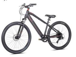 "Kent Electric Pedal Assist Mountain Bike , 27.5"" Wheels, Bla"