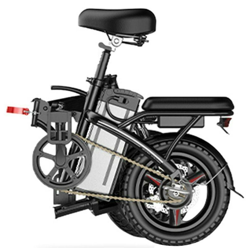 14'' Electric Commuter Bicycle Ebike 48V Battery