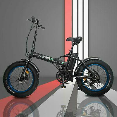 """20"""" 500W Electric Tire Bike Bicycle City LCD"""
