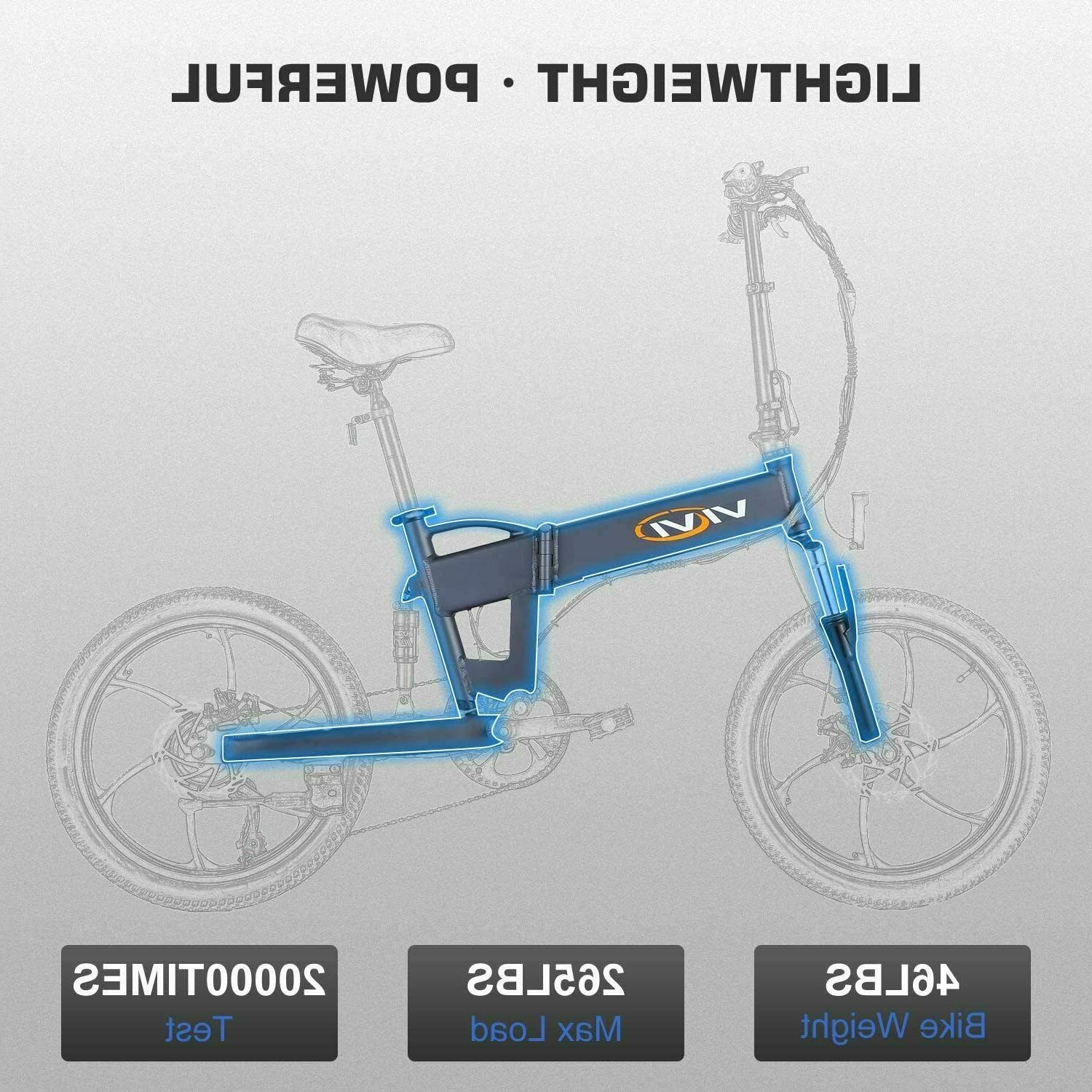 20'' Electric Ebike Removable
