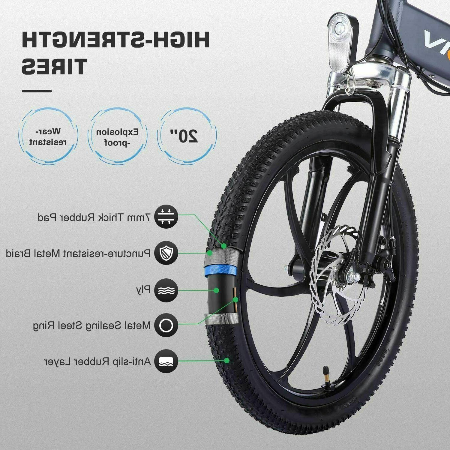 20'' Electric Ebike 350W Removable