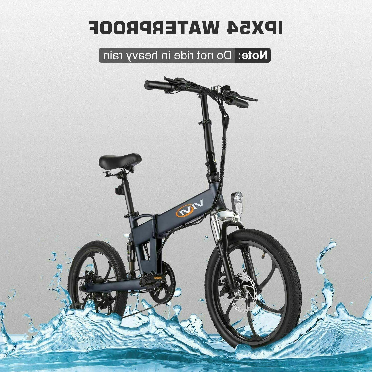 20'' Ebike 350W W/ Removable Lithium-Ion