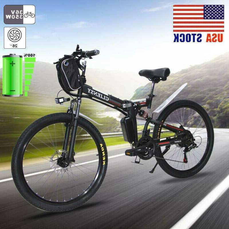 """26"""" Bicycle Electric CLIENSY 350W City Mountain"""