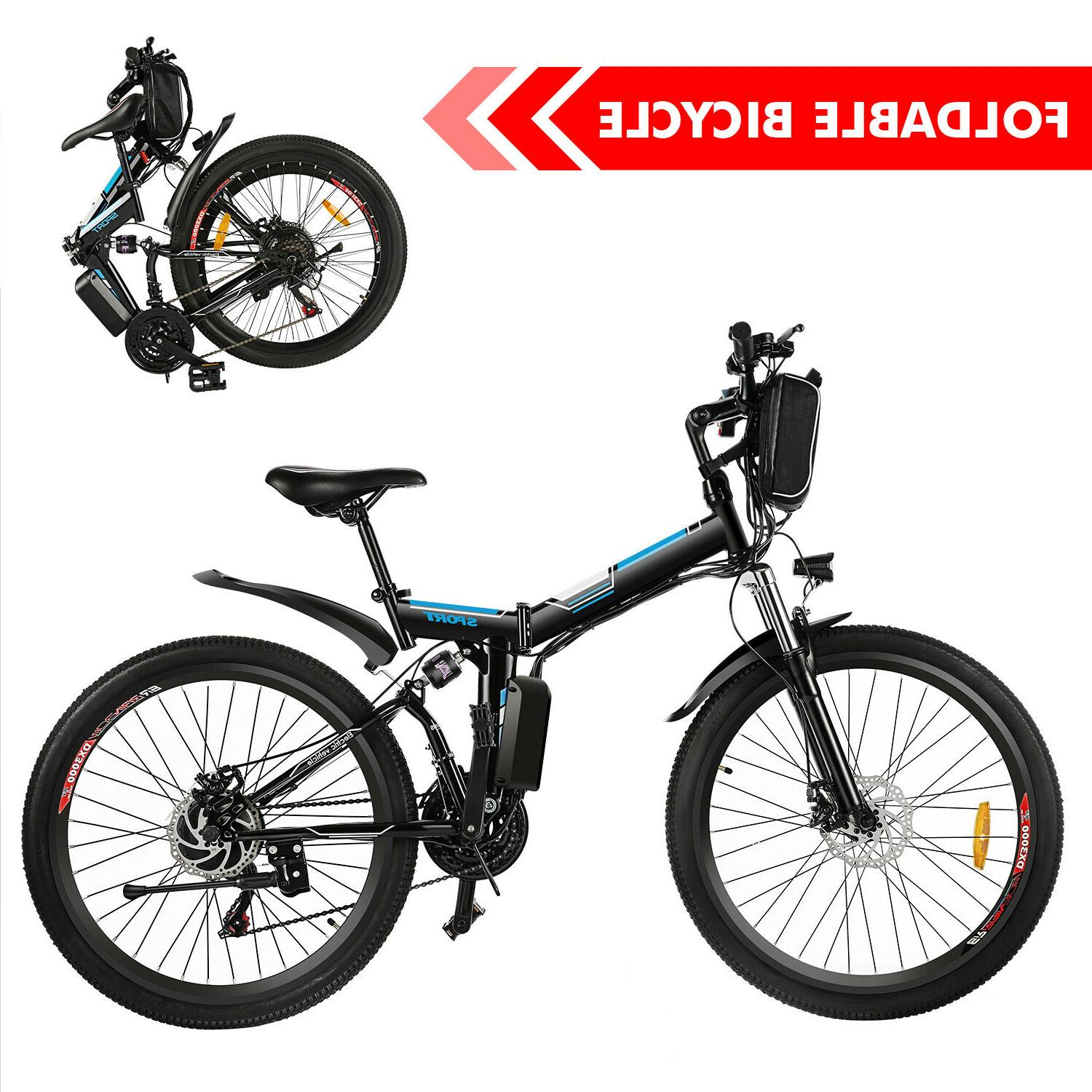 26'' Electric Mountain Bicycle Speed