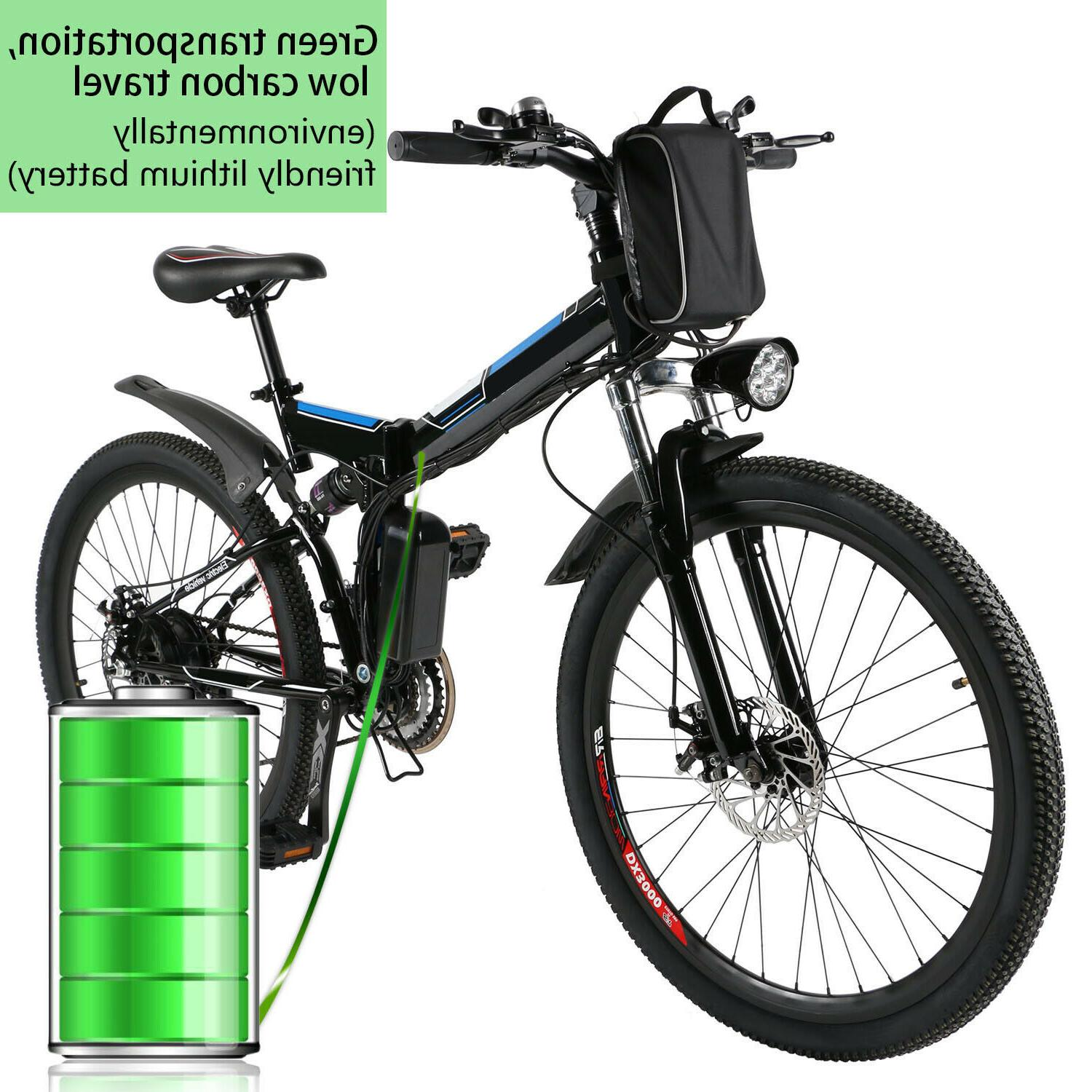 26'' Mountain Bicycle Speed 36V