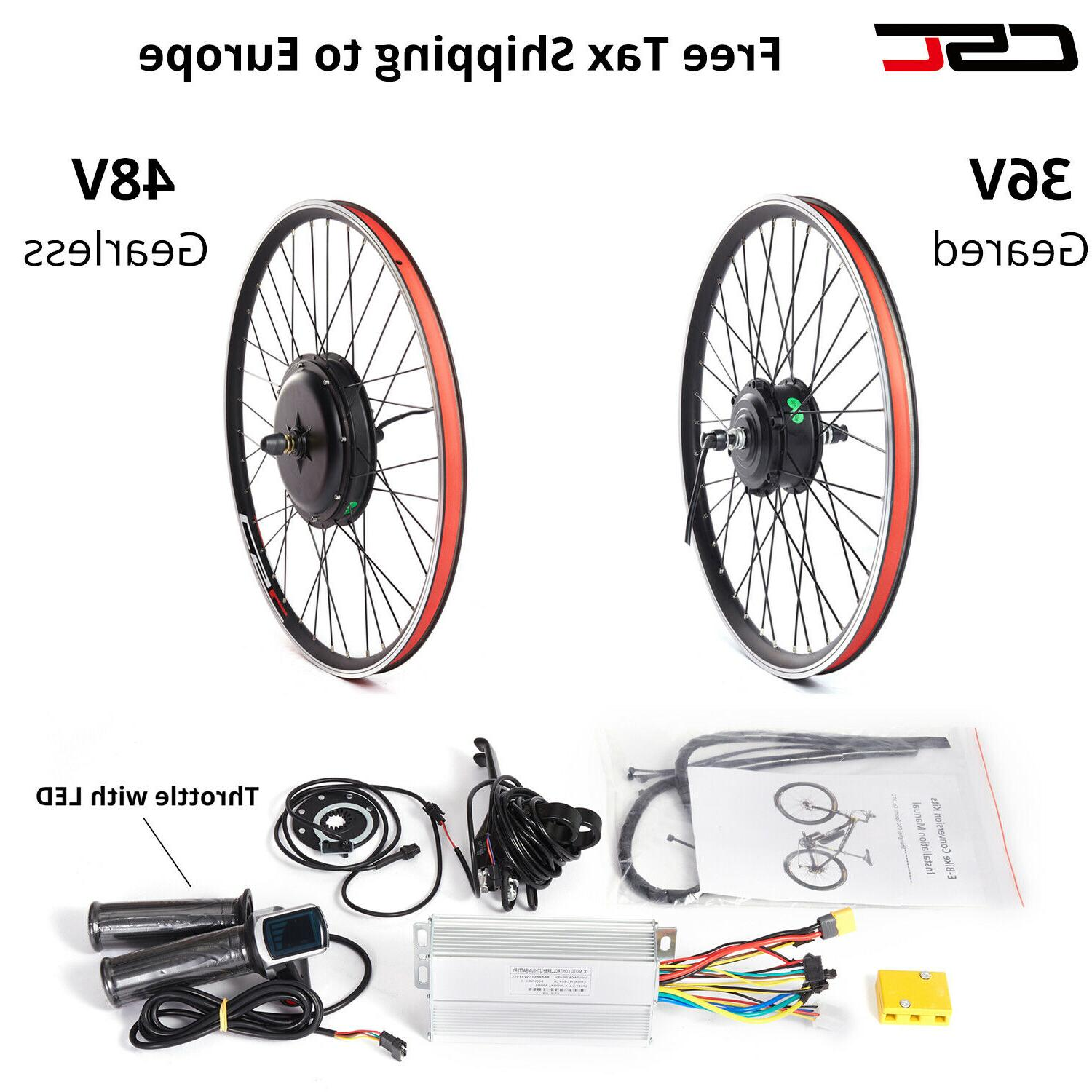 48V Electric Bicycle Motor E