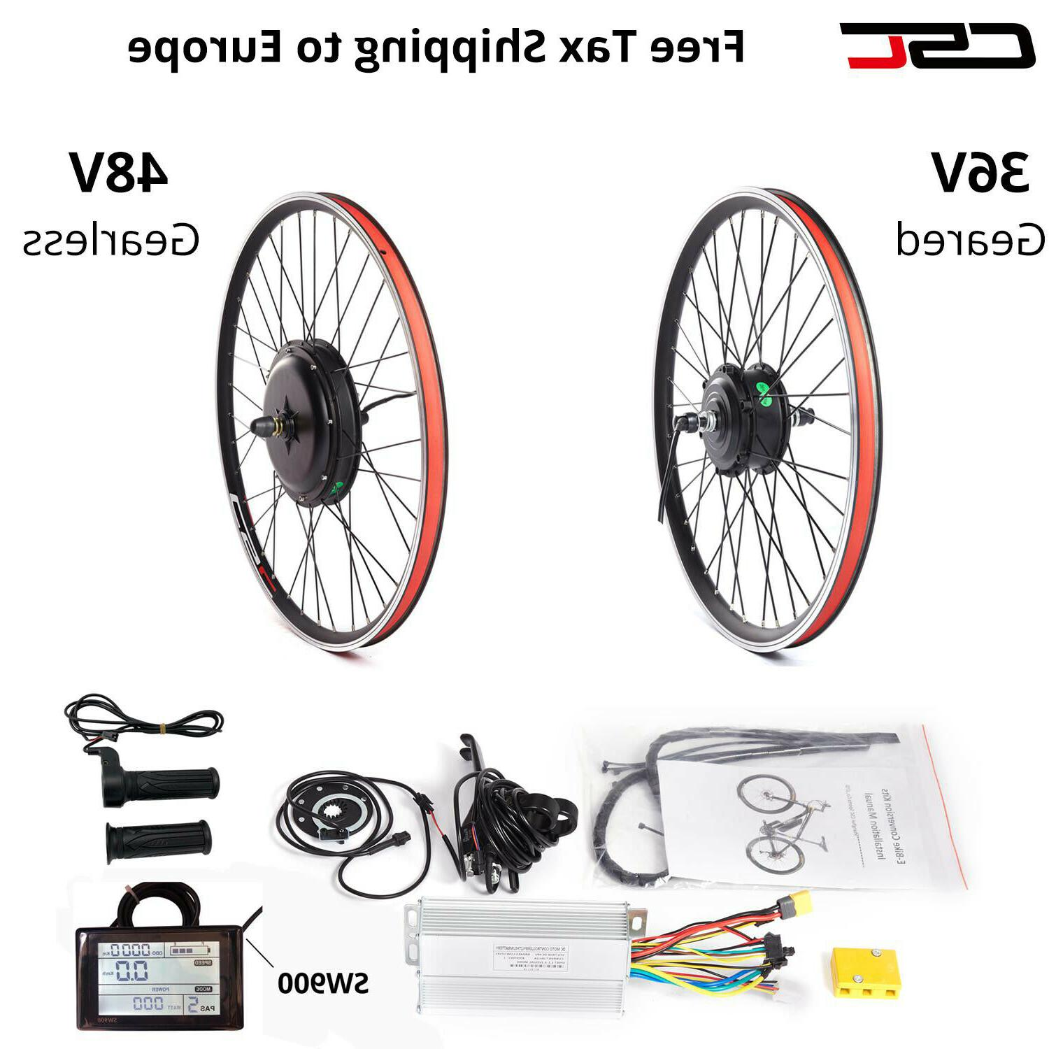 48v 1500w wheel electric bicycle motor conversion