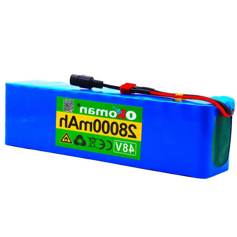 48V 28Ah lithium ion battery high power + charger