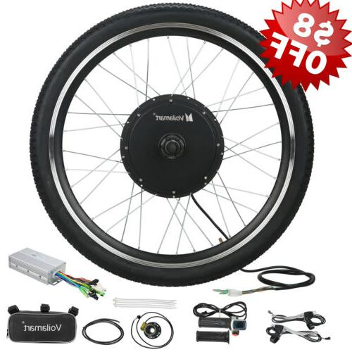 26 48v 1000w ebike front wheel electric
