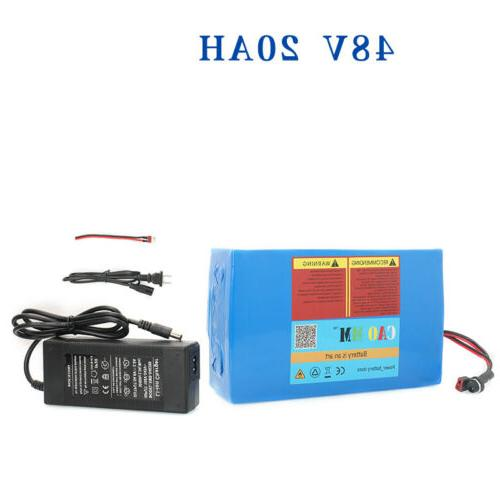 48V Bicycle EBike Bike Scooter Electric Charger