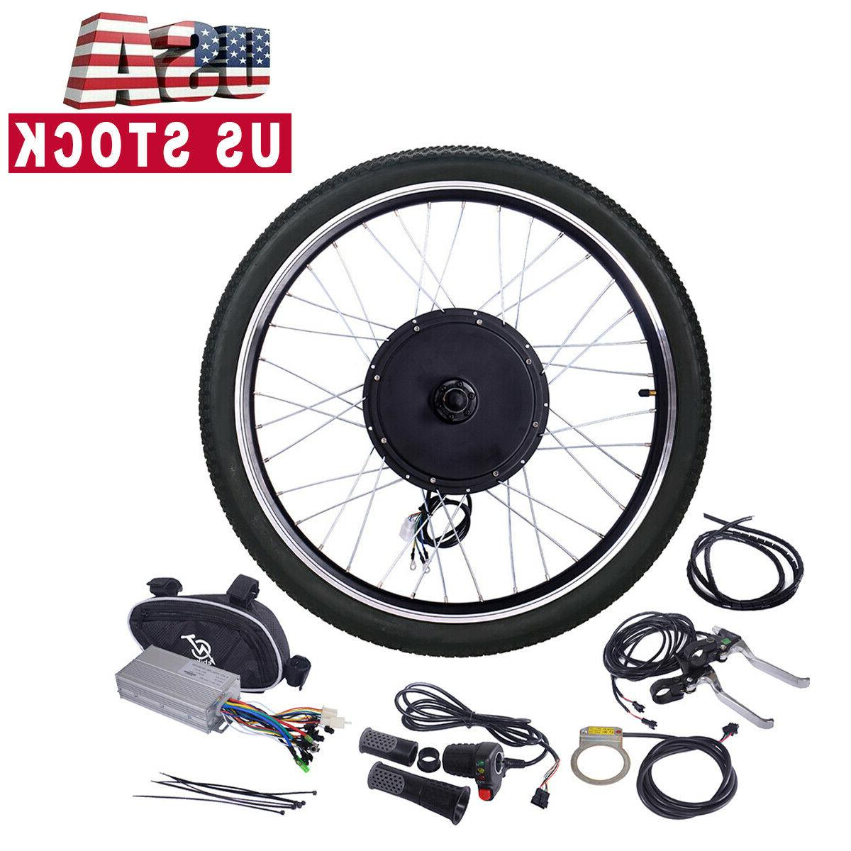 electric bicycle 26 48v 1000w ebike front