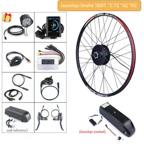 electric rear wheel conversion kit 48v 500w