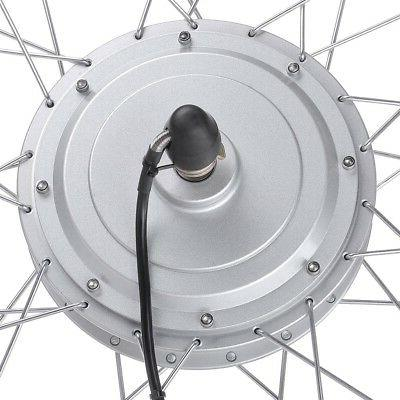 36V 750W Wheel Electric Bicycle Motor Conversion Kit Tire
