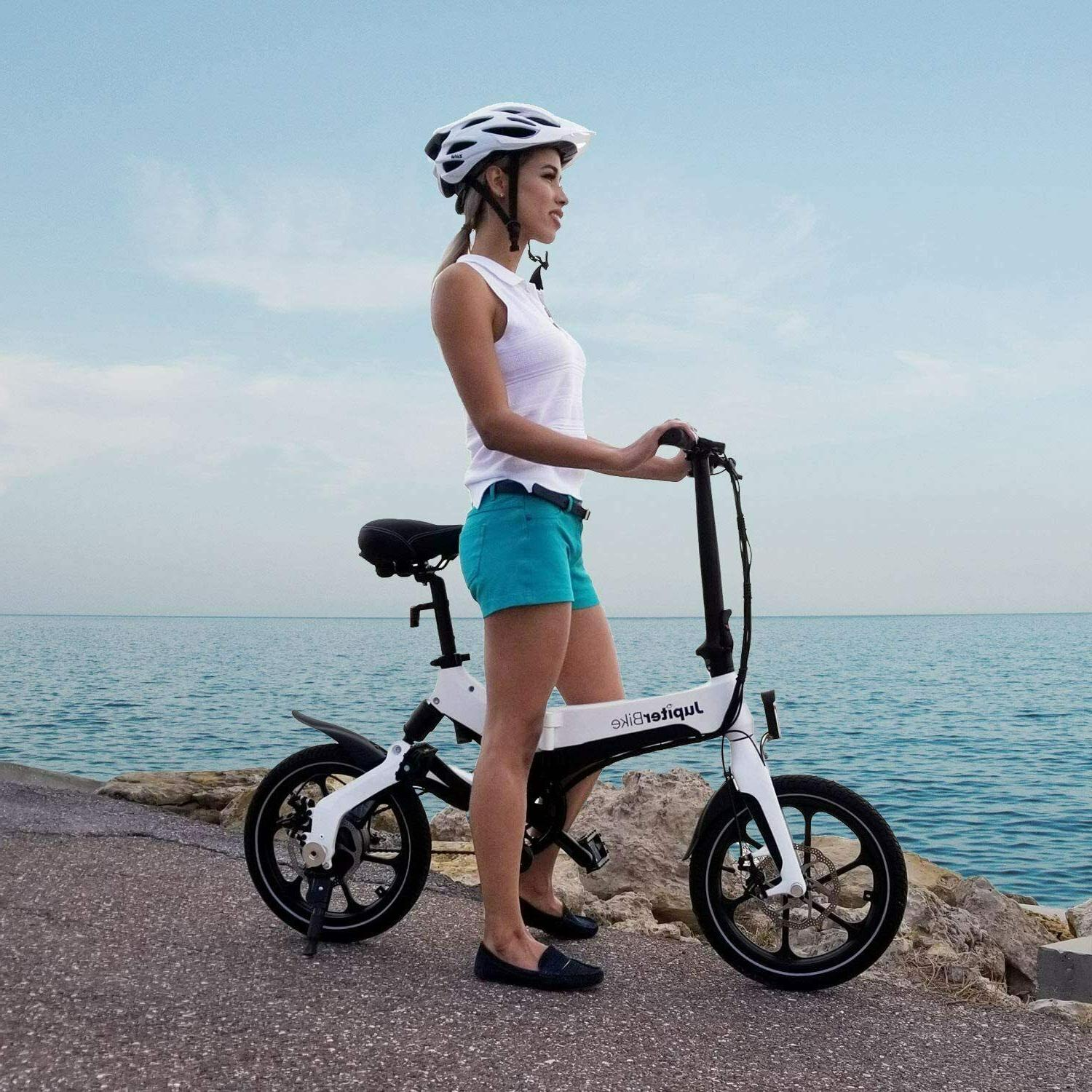 JUPITERBIKE Discovery X5 Electric 350W Electric Bicycle 16MP