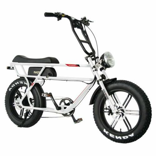 """Addmotor MOTAN M-70 Electric Bicycle 750W 20"""" Fat Tire Elect"""
