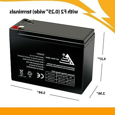 New 10AH SLA Battery Ezip 400 Electric Bike