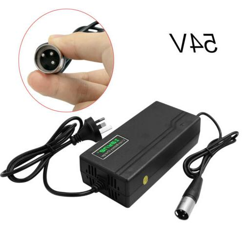 SilverFish 48V Electric lithium Pack Charger E-bike