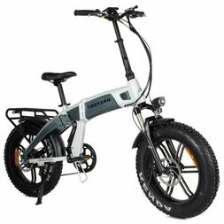 MaxFoot MF-19 750W Electric Folding Bicycle 14AH Full Suspen