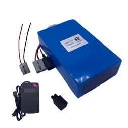12V 50AH LiFePO4 Battery Pack Lithium 10A Charger Rechargeab