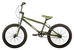 NEW Mongoose Varial 18-inch Boys BMX Freestyle Bike with 4 P