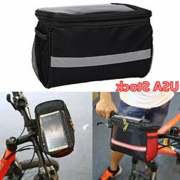 Outdoor Bicycle Handlebar Bag Bike Cycling Pack Front Pannie