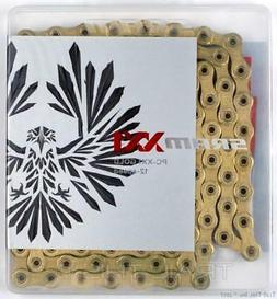 SRAM PC-XX1 Eagle Gold 12-Speed Bicycle Chain Hollow Pin 126