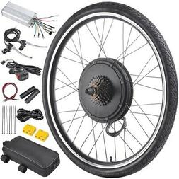 "48V 1000W 26"" Rear Wheel Electric Bicycle Motor Kit EBike Cy"