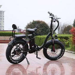 Smilo 1000w/48v Two Seater Fat Tire Folding Electric Bicycle