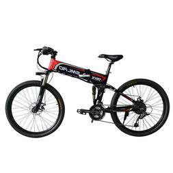 "2020 TRYX 750W 48V 10AH Folding Electric E-bike 26"" 21spd Mo"