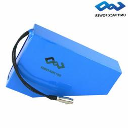 UPP Rechargeable Lithium Battery Triangle Pack 52V 17.5Ah Eb