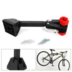 Wall Mount Bike Repair Stand Folding Clamp Bicycle Storage R