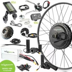 "Ebikeling Waterproof e-Bike Conversion Kit 48V 1500W 26"" 700"