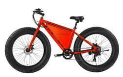 SONDORS X Red Fat Tire Ebike